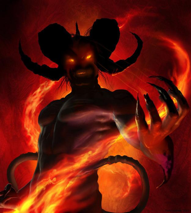 Амон - Могущественный демон...